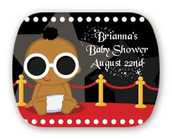 a star is born hollywood mint tin stickers baby shower stickers