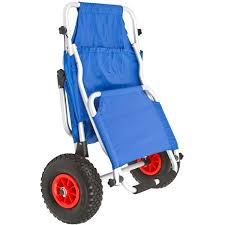 folding beach chair with canopy and oversize tires discount ramps