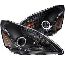 2004 honda accord headlights anzo usa honda accord 03 07 2 4 dr 05 07 hybrid projector