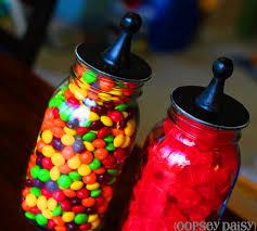 35 Halloween Mason Jars Craft Ideas For Using Mason Jars For by Mason Jar Candy Jars Tutorial Oopsey Daisy