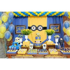 Minion Birthday Decorations Minions Birthday Decor Pinterest Birthdays Birthday Party