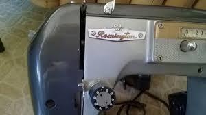 details about remington monarch vintage sewing machine model 6a