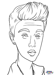 justin bieber coloring page u2013 coloring pages u2013 original coloring pages