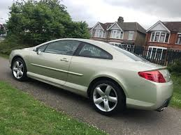 new peugeot 407 automatic peugeot 407 coupe 2 7 hdi v6 sport in barking london