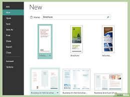 bordes para publisher cómo crear folletos usando microsoft publisher 11 pasos