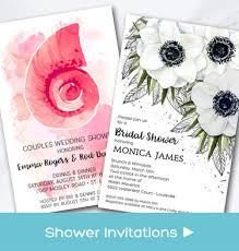Couples Wedding Shower Invitations Bridal Shower Invitations Rehearsal Dinner Invitations U0026 More