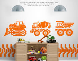 construction vehicles vinyl wall decal and stickers boy room construction vehicles vinyl wall decal and stickers boy room playroom nursery decals