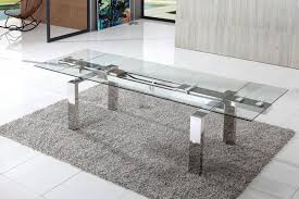 cosmic extending glass dining table modenza furniture
