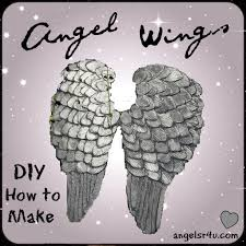 how to make angel wings out of cardboard and paper mache diy