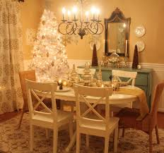 Christmas Decorations For The Dining Table by Decorating My Dining Room For Christmas Hooked On Houses