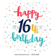 16th birthday stock images royalty free images u0026 vectors