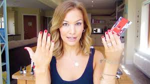 how to gel nails at home youtube