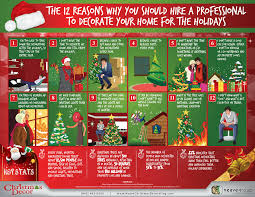 christmas decor infographic 12 reasons to hire a professional to