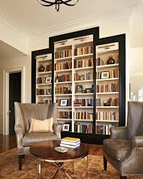 home interior books floating white wooden book shelves on red painted wall interior