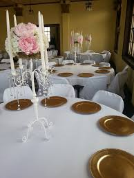Blush Pink Decor by Blush Pink U0026 White Floral White Crystal Candelabra White Candle