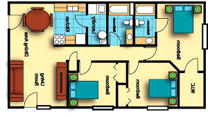 Studio Plan by 300 Sq Ft Floor Plans U2013 Laferida Com