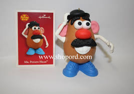 hallmark 2003 mr potato ornament qxi4277