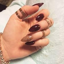 12 fall stiletto nail designs 30 unique stiletto nail designs
