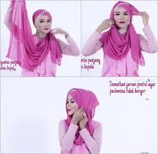 tutorial hijab noura tutorial hijab dengan headpiece untuk lebaran