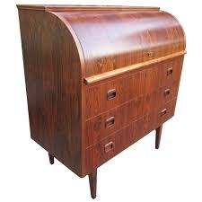 teak roll top desk danish rosewood roll top desk signed mid century modern danish