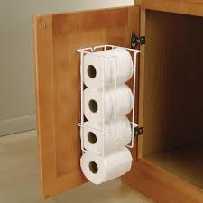 knape u0026 vogt 16 in x 5 38 in x 5 5 in door mounted toilet paper
