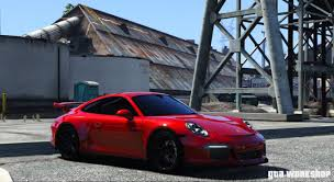 gta 5 porsche 911 gt3 2015 add on pc mod