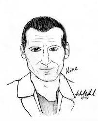 ninth doctor sketch by gallifreyireland on deviantart