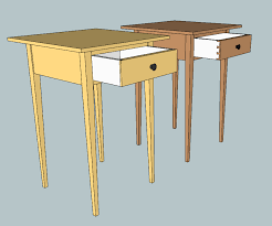 shaker end table plans shaker table the wood whisperer guild