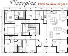 Morton Building Floor Plans 40x60 Floor Plan Pre Designed Great Plains Western Horse Barn Home