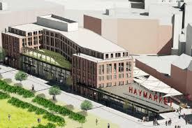 haymarket hotel plan shrinks but lodge and food market remain