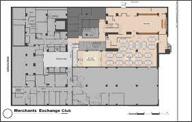 floorplans the merchants exchange club