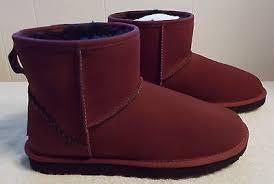 s ugg australia mini deco boots ugg australia s mini deco cork sheepskin boots size 7
