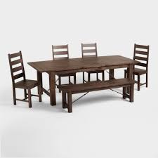 Queen Anne Antique Dining Room Chairs Minnesota Wood Garner Extension Dining Table World Market