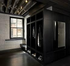 Mudroom Design Paola Salinas Modern Black Mud Room With Black Mud Room Cabinets