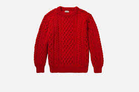 how does it take to knit a sweater the cable knit sweater is back from the dead photos gq