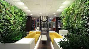 fresh modern house interior design garden toobe green that has