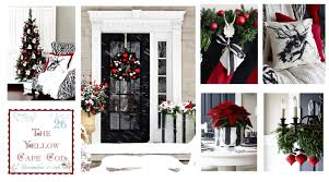 White House Christmas Decorations Tour by The Yellow Cape Cod Christmas Home Tour 2014