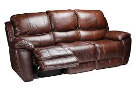 Brown Leather Recliner Sofas Crosby Leather Reclining Sofa At Gardner White