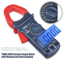astroai digital clamp meter trms 6000 counts multimeter with