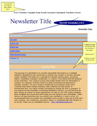awesome collection of 9 free business newsletters templates