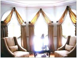 Curtains For Windows With Arches Arch Window Treatments Arched Window Curtain Rod Half