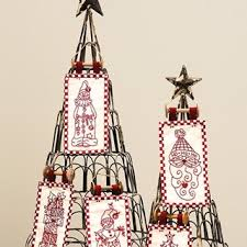 a pair of clever christmas trees to show off special holiday