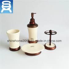 china chrome plating and porcelain bathroom set bathroom