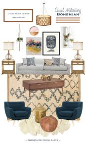 Design My Livingroom Casual Midcentury Bohemian Living Room Design Inspiration