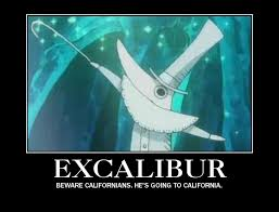 Excalibur Meme - excalibur motivational poster by shotachii on deviantart