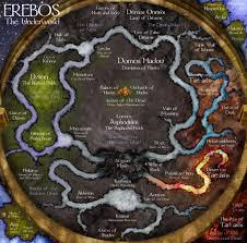 Map Of The Dead Bottomless Pit Underworld Mythology And Greek Underworld