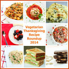 thanksgiving recipe roundup 2014 vegetarian gastronomy
