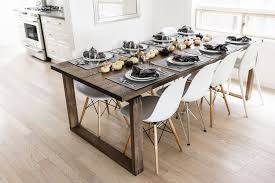 a modern scandinavian thanksgiving tablescape happy grey lucky