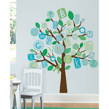 vaggdekor abc trad bl rm2056 lekrum pinterest abc pink tree peel and stick giant wall decals