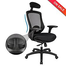 amazon com longem ergonomic office chair with adjustable back